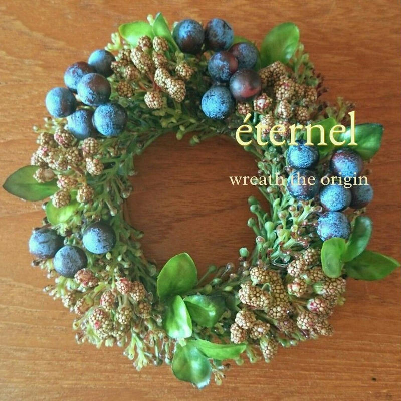 mini wreath w/berry  φ15