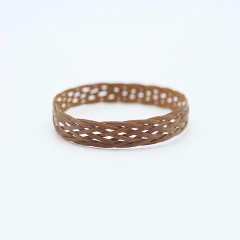 ラタンバングル L (茶色)  Rattan bangle L (brown)