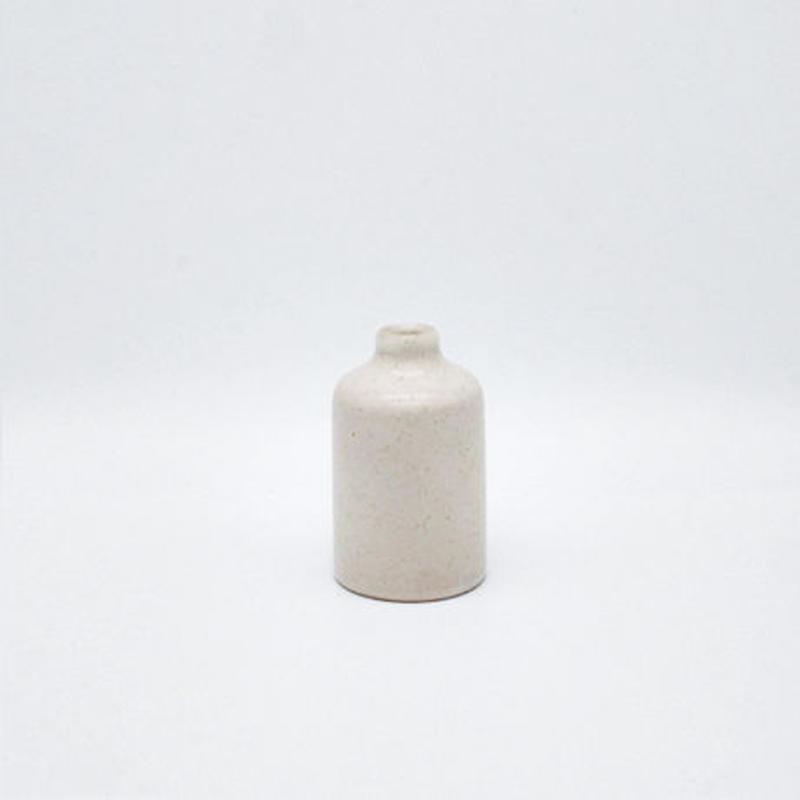 フラワーボトル S(白)  Flower bottle S (white)