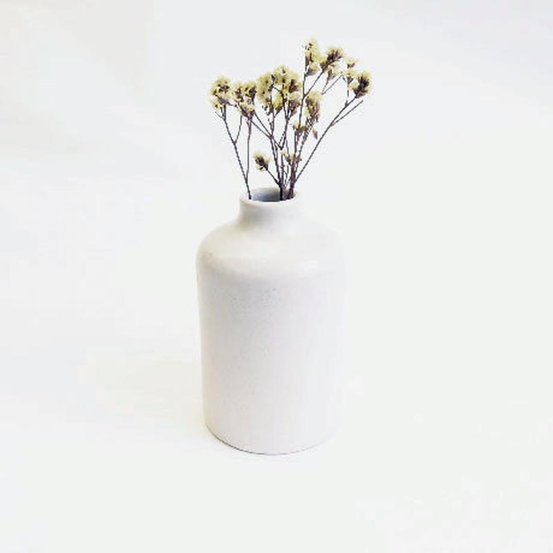 フラワーボトル(白)  Flower bottle L (white)