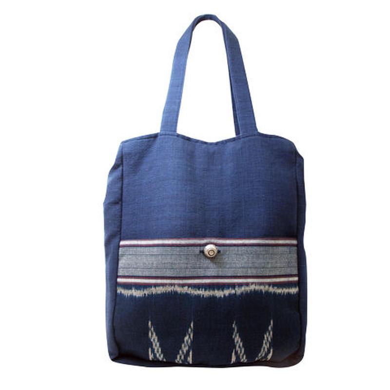 マドミーの藍染め トートバッグ