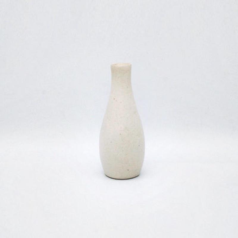 フラワーベース(白)  Flower vase (white)