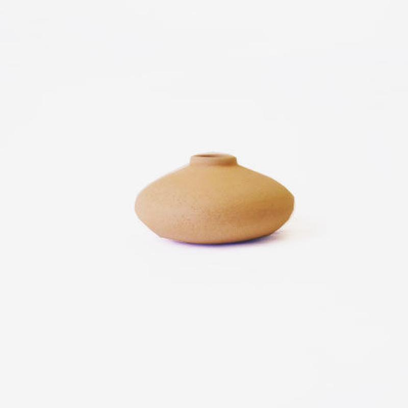 フラワーポッド(素焼き)  Flower Pod (unglazed)