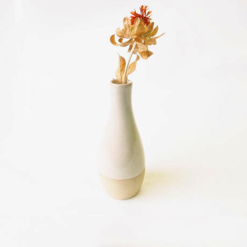 フラワーベース(半素焼き)  Flower vase (half unglazed)