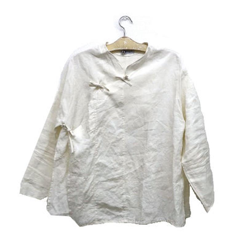 旗袍上衣(ホワイト)