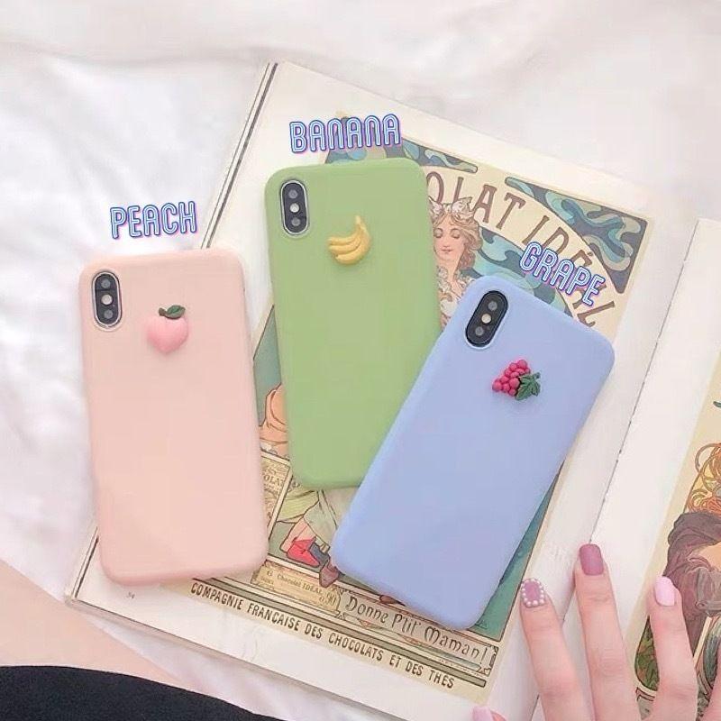 Fruits soft iphone case