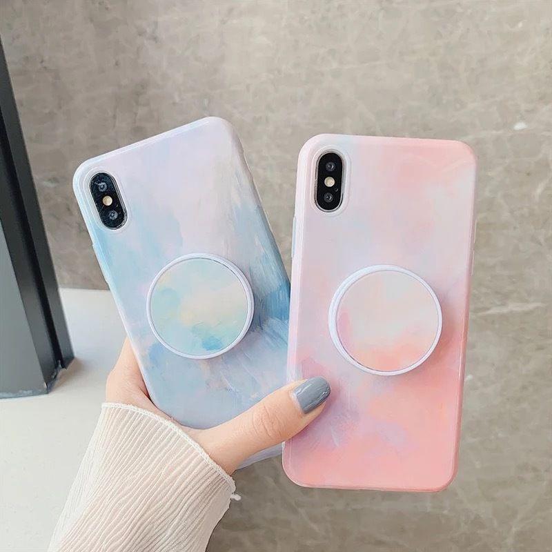 Watercolor grip iphone case