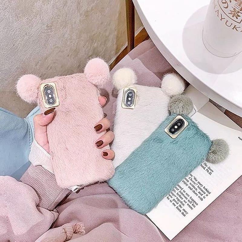Bear fur iphone case