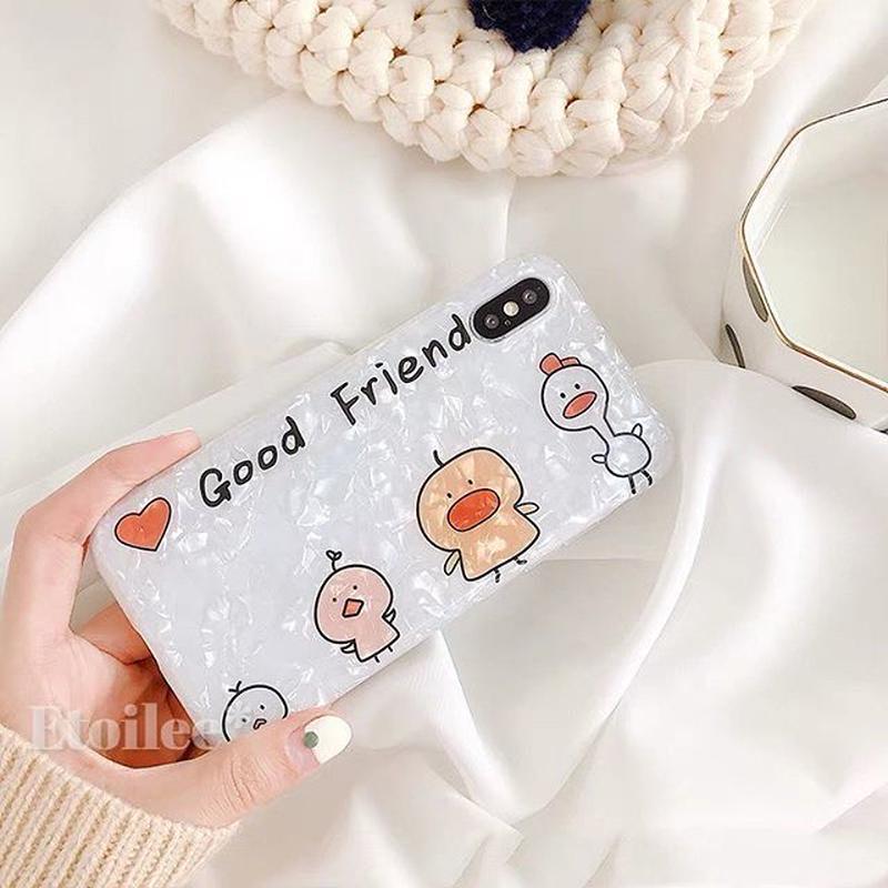 Good friend shell iphone case
