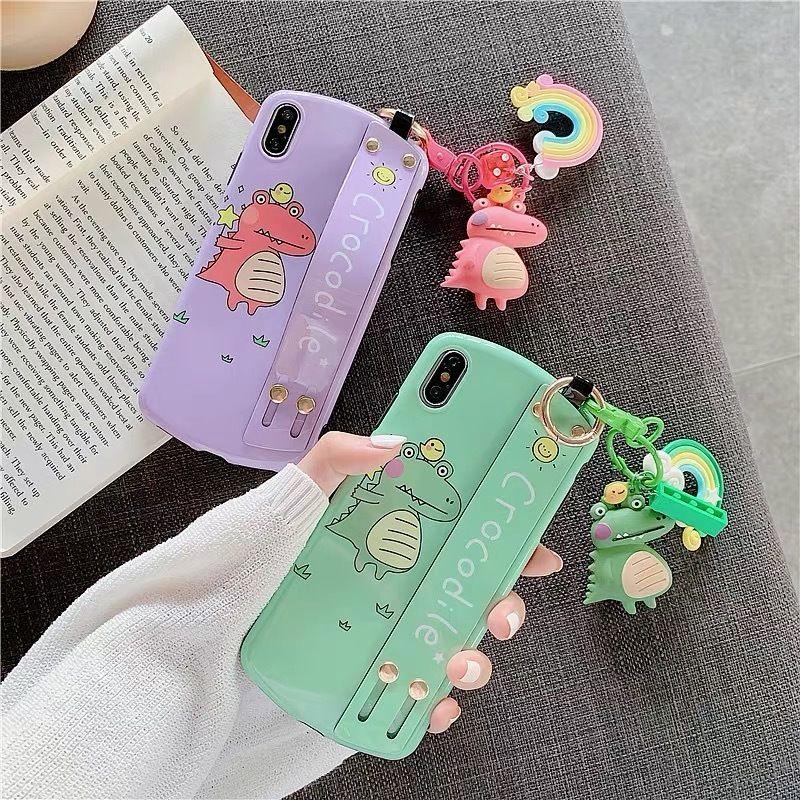 ⚠︎発送遅延⚠︎Crocodile strap  iphone case