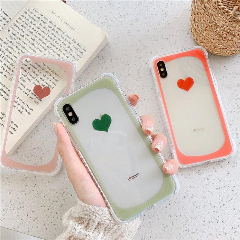 Heart frame  iphone case