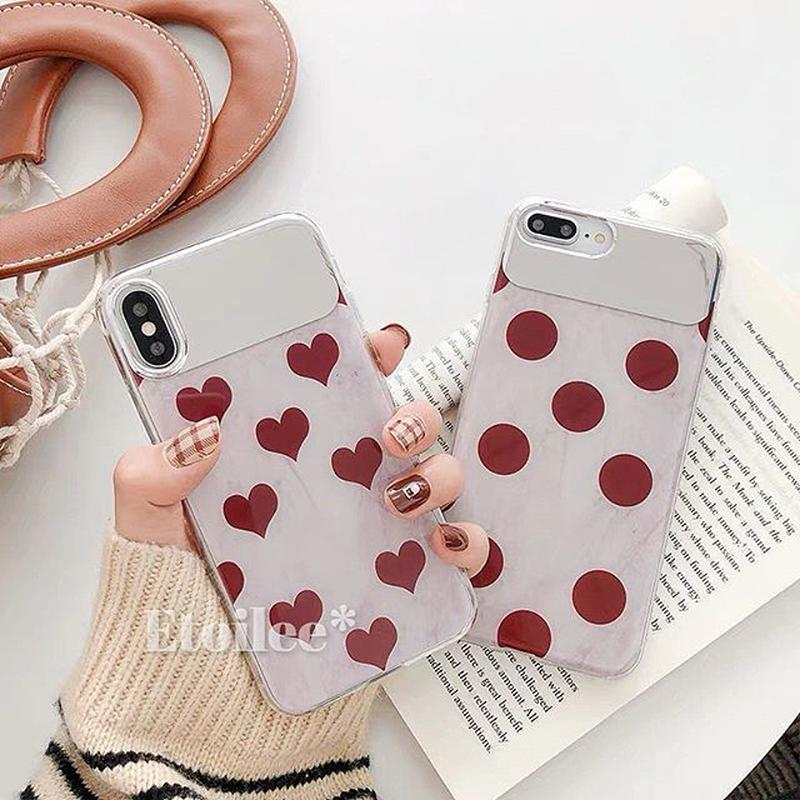 Big heart dot iphone case
