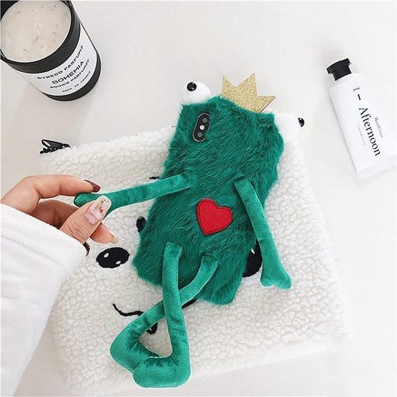 Frog fur iphone case