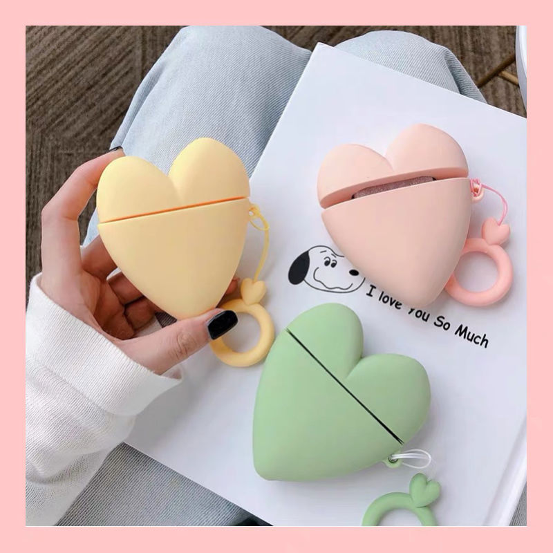 Heart shape  airpods case