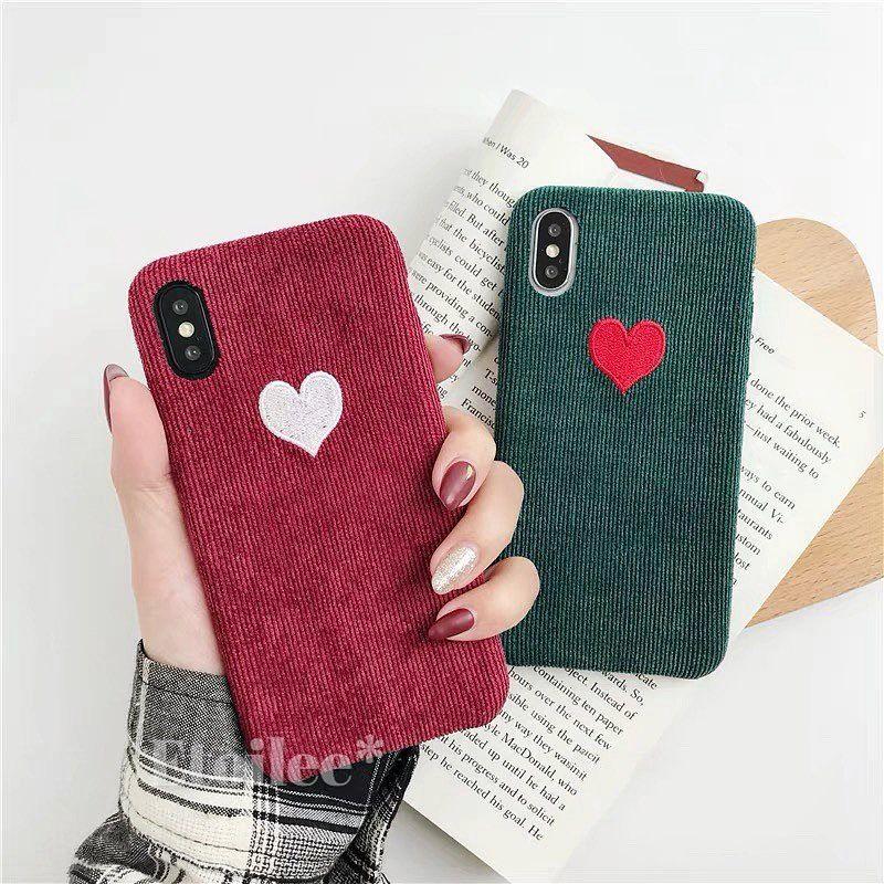 ⚠️発送遅延⚠️Red green heart iphone case