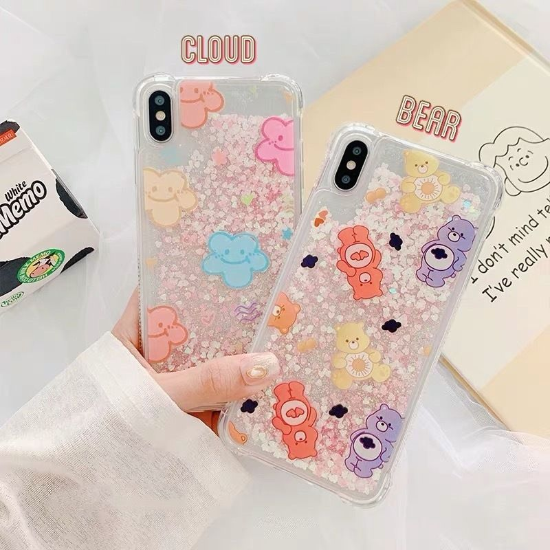 Cloud bear quicksand iphone case