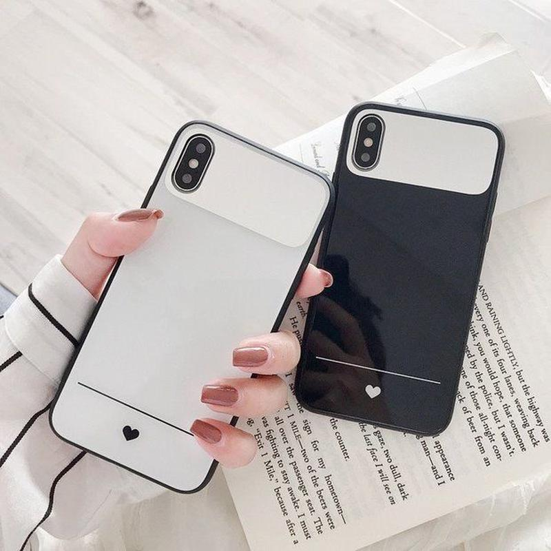 Petite heart mirror  iphone case