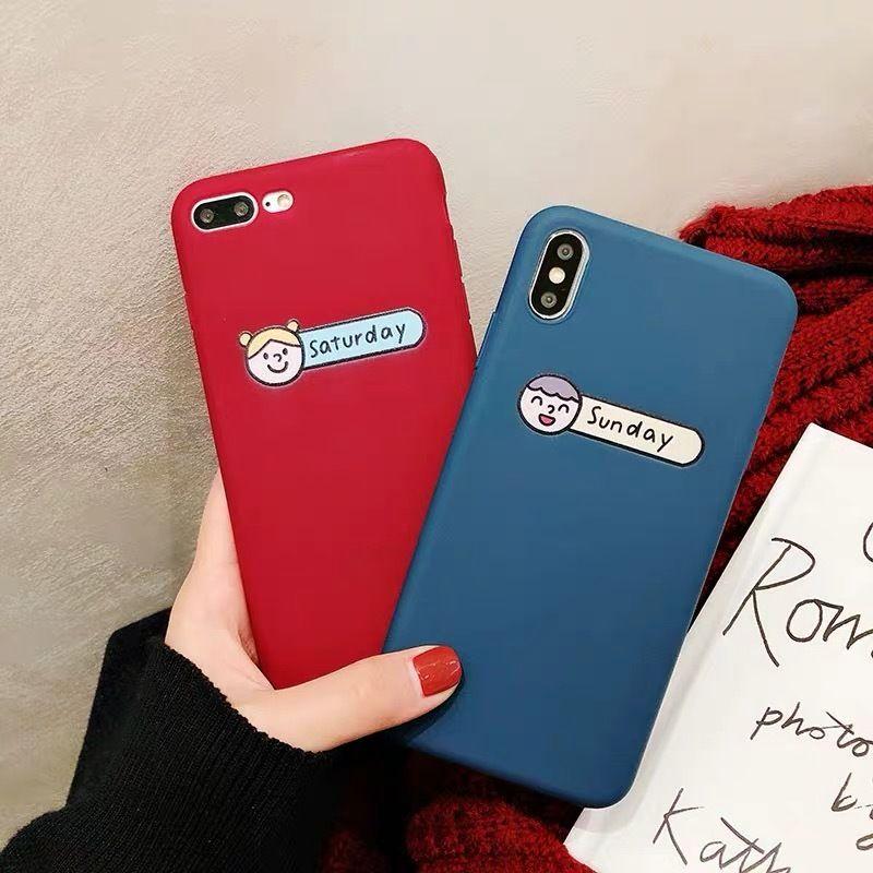 Saturday Sunday iphone case