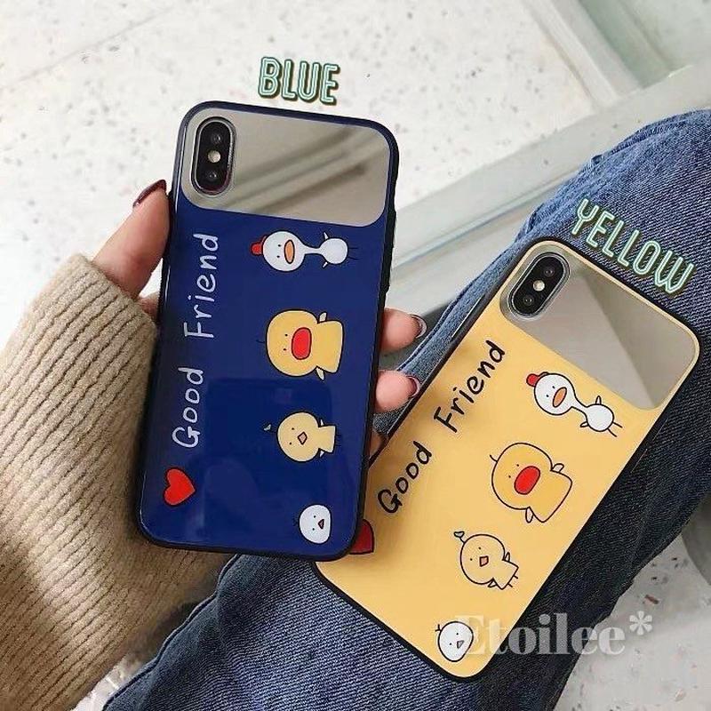 Good friend mirror iphone case