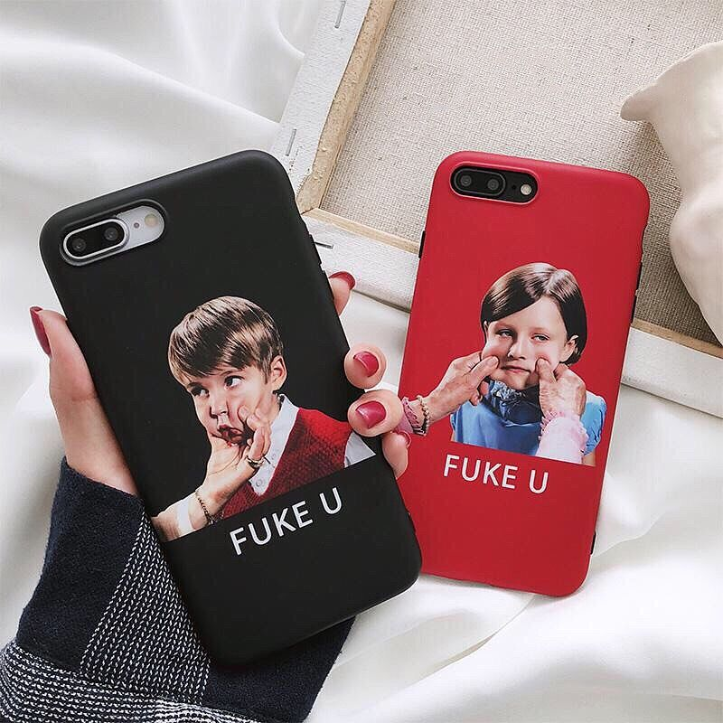 Fuke you iphone case