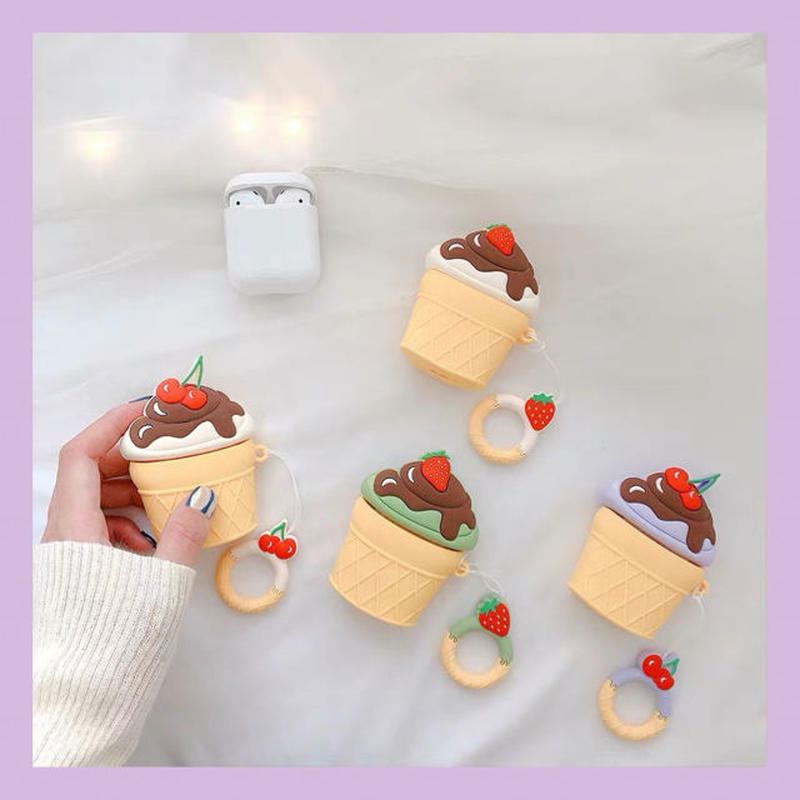 Fruits icecream airpods case