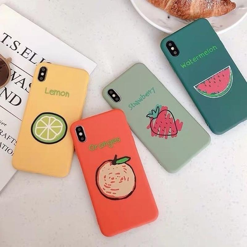 Fruits 4colors iphone case