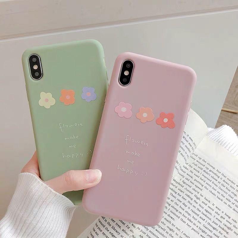 Flower make me happy  iphone case