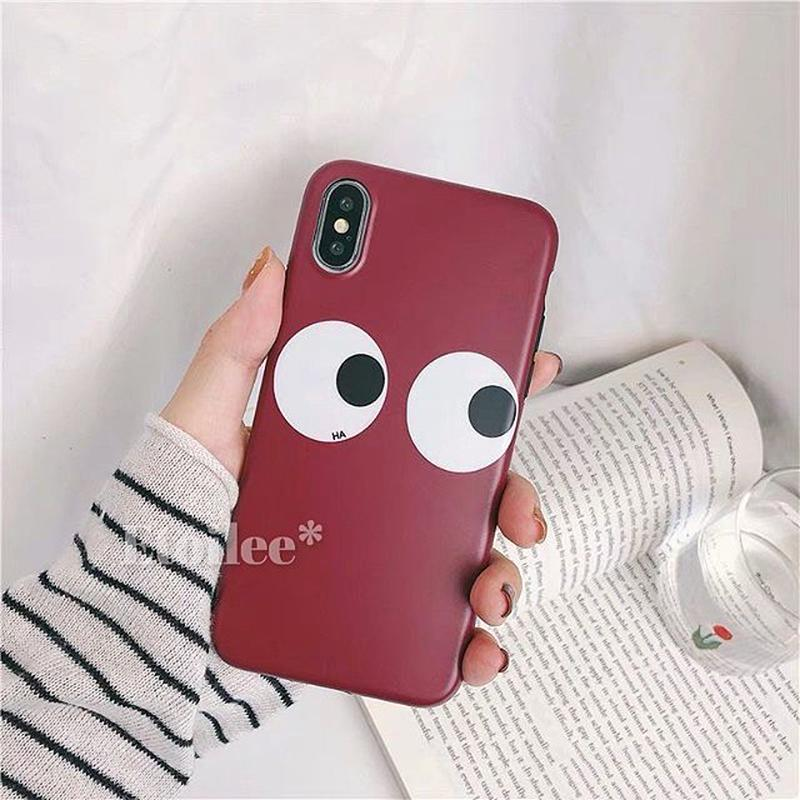 Red face iphone case