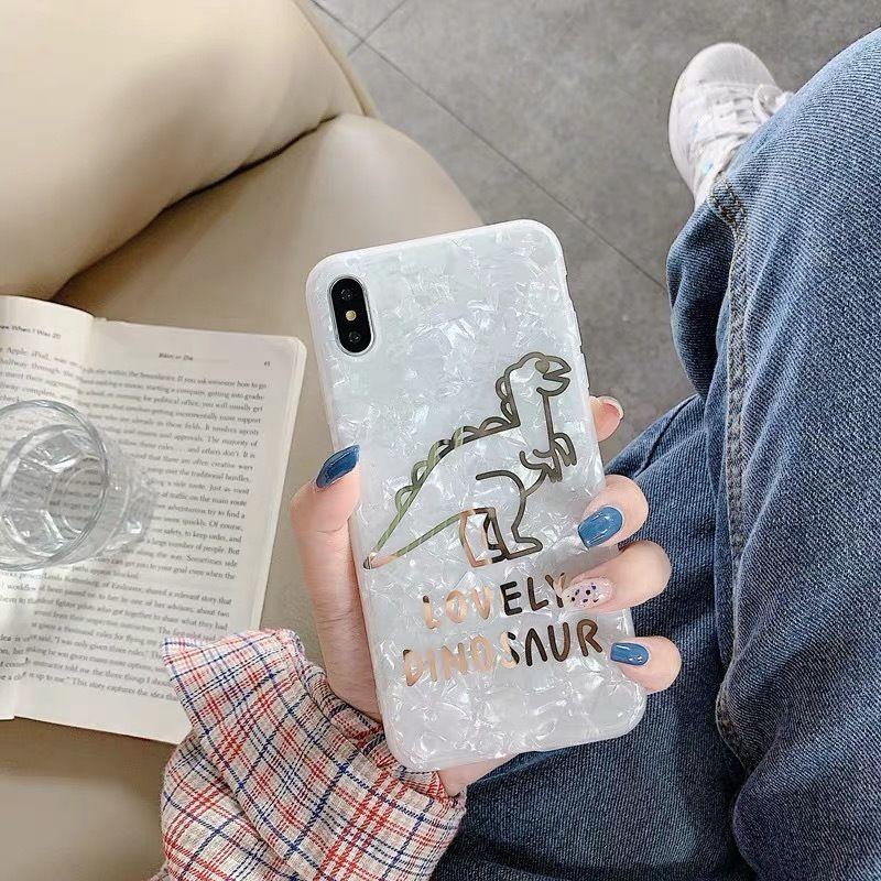 Dinosaur shell iphone case