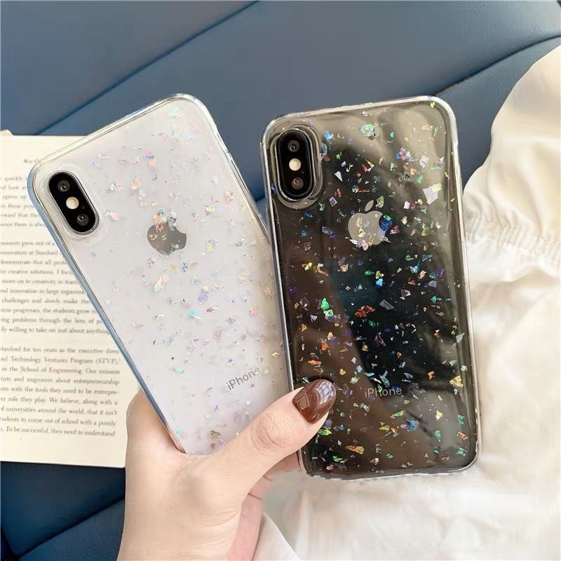 Multi glitter iphone case