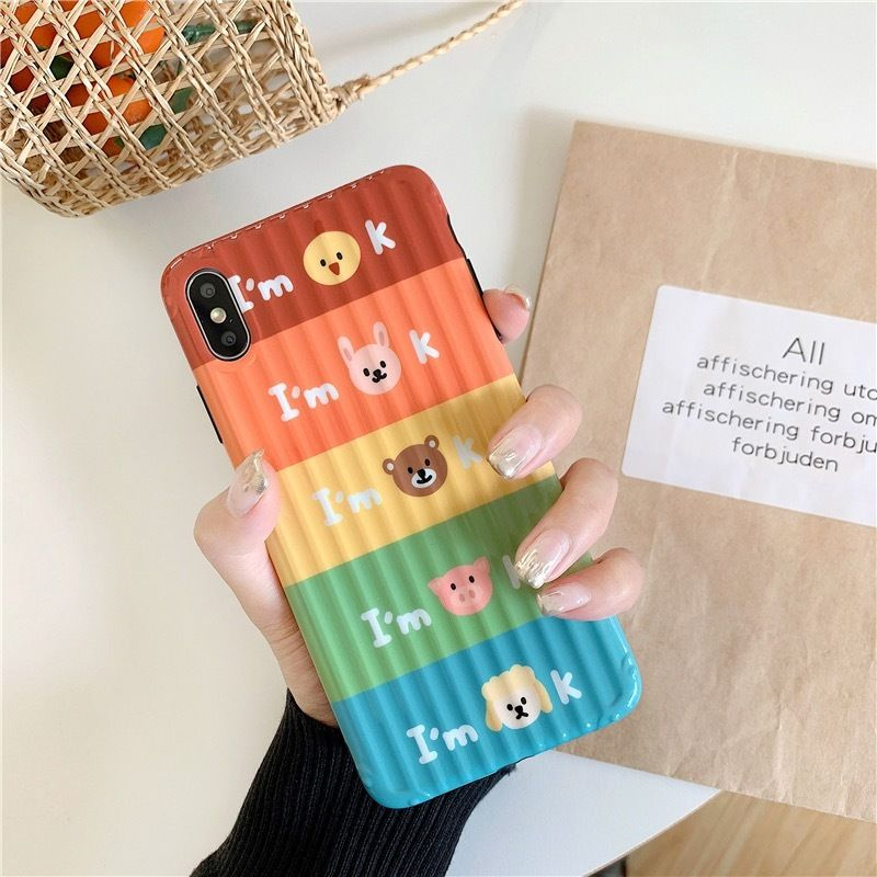 Animal I'm ok iphone case