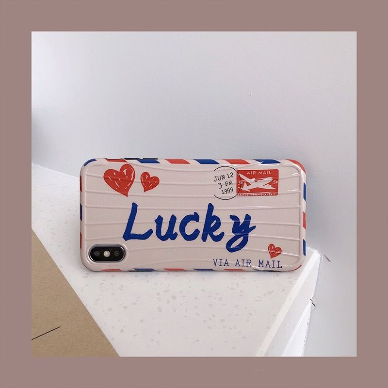 Lucky letter  iphone  case