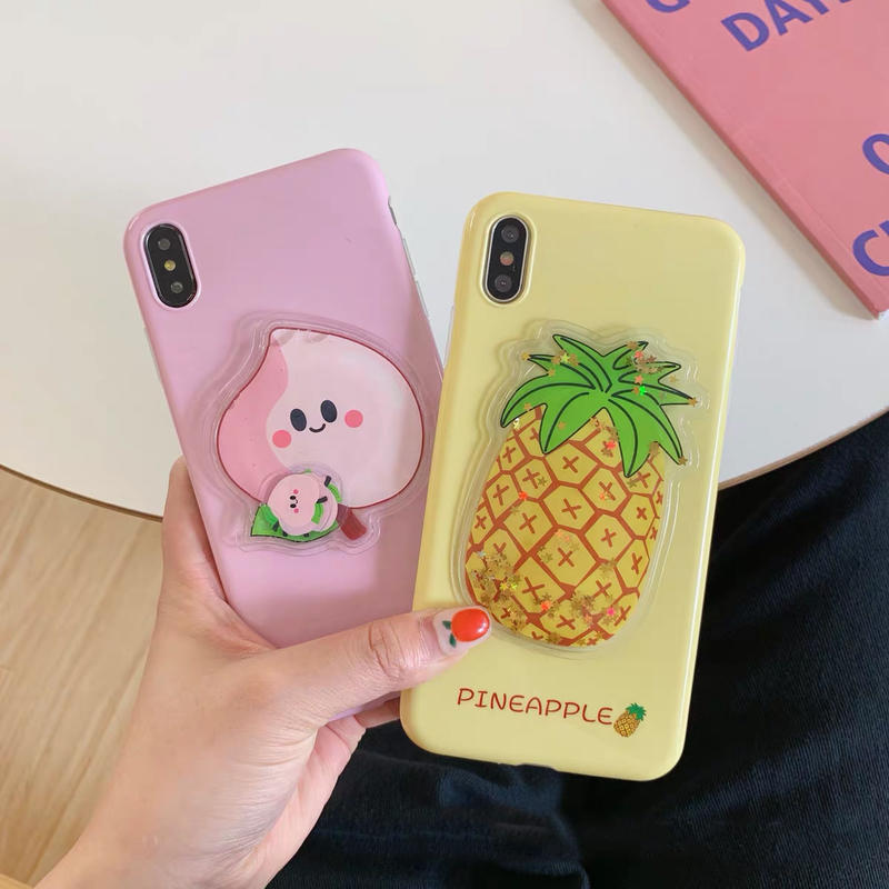 Pineapple peach  iphone case