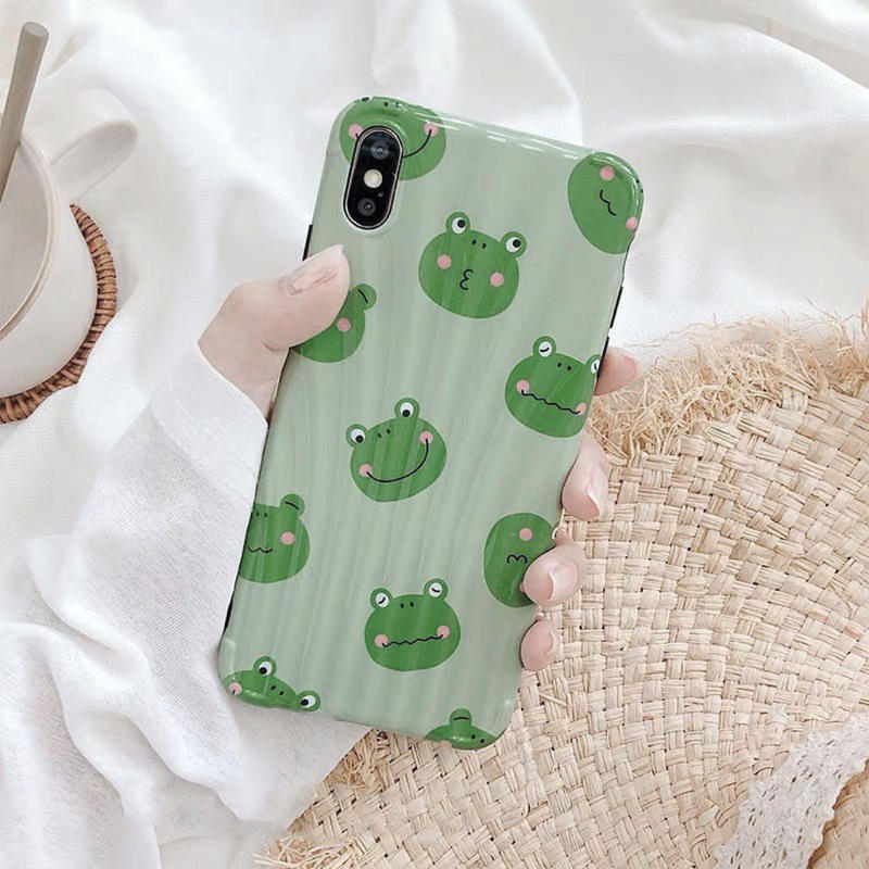 Frog green  iphone case