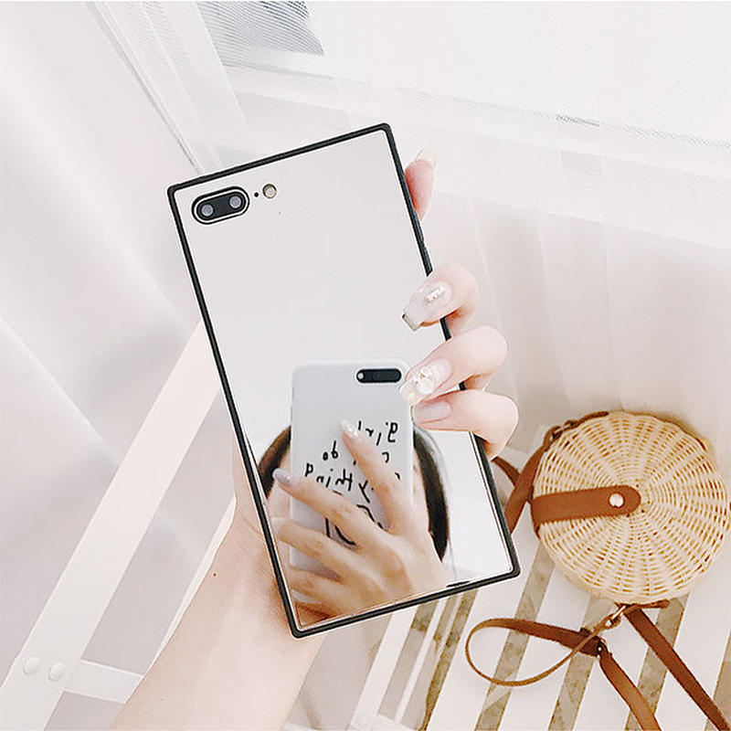 Mirror square iphone case
