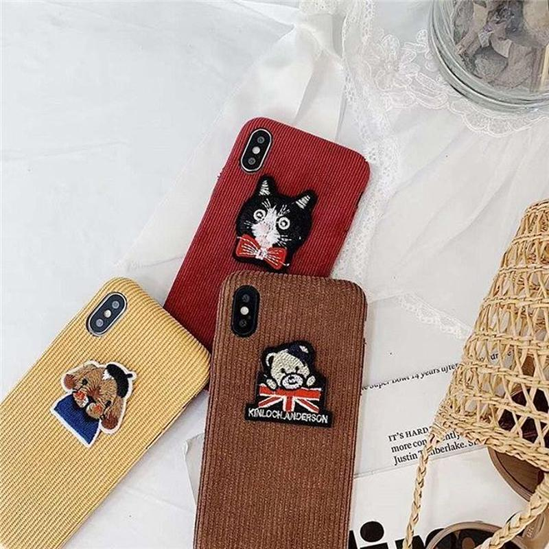 Animal patches iphone case