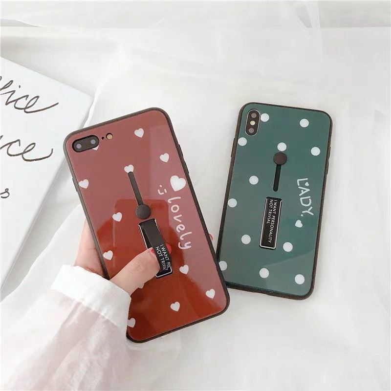 Green red black band iphone case