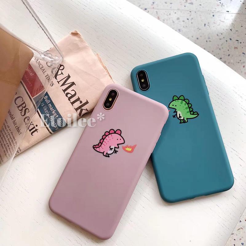 Dinosaur couple iphone case