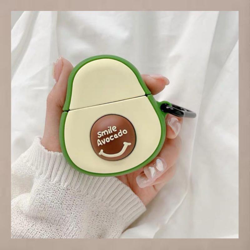 Smile avocado  airpods case