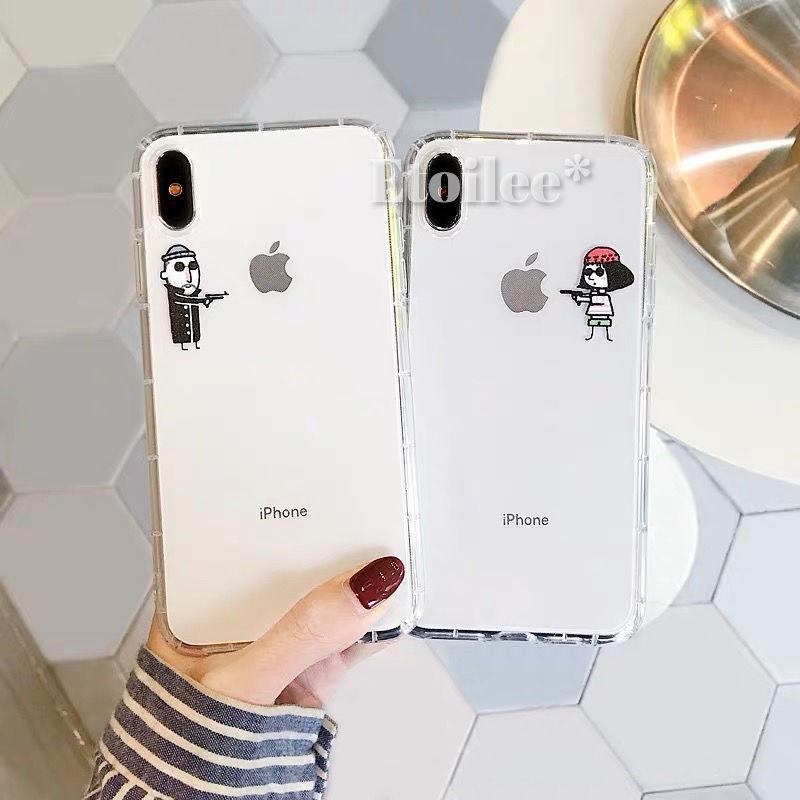 Leon Matilda clear iphone case