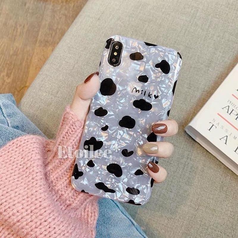 Milk shell iphone case