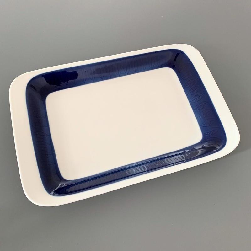 【ROR050】Rörstrand(ロールストランド):KOKA(コカ)スクエアプレート(オーブン対応深皿)ブルー