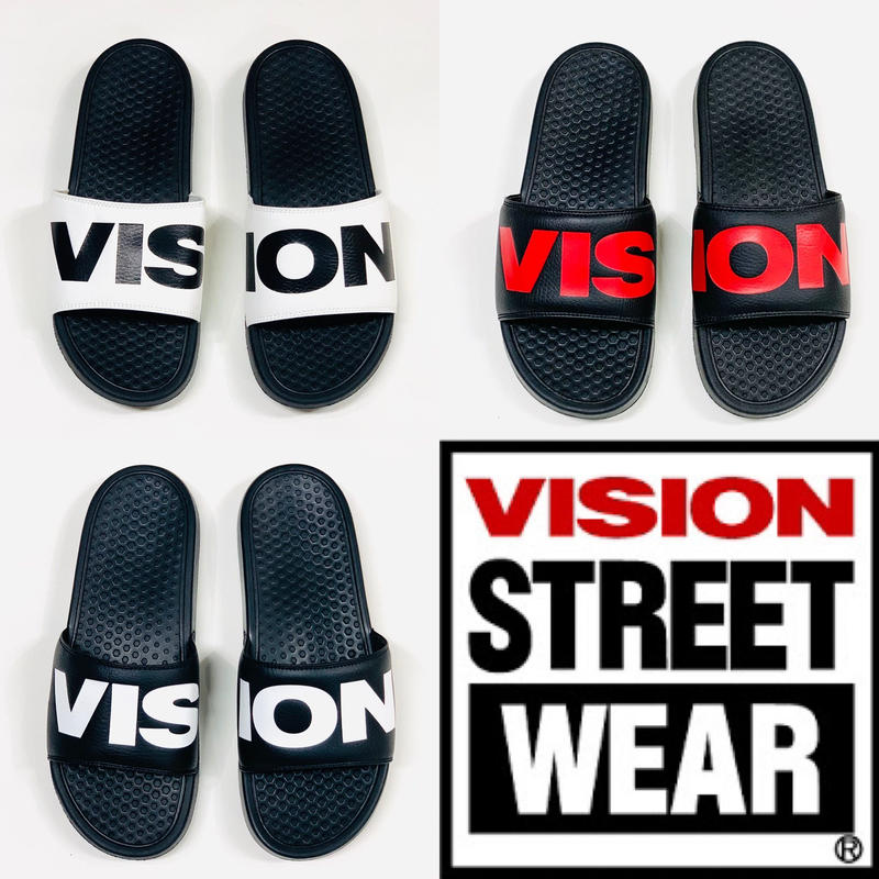 VISION  STREET  WEAR  〝ZUMA   Slides〟シャワーサンダル