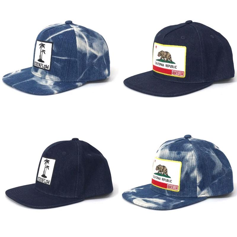 DENIM  PALM LOGO  CAP  by EVENFLOW