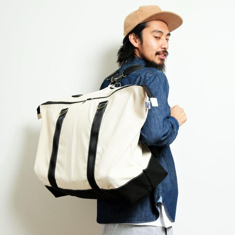 ASSISTANT  BAG  by  EVENFLOW  #WHITE/BLACK