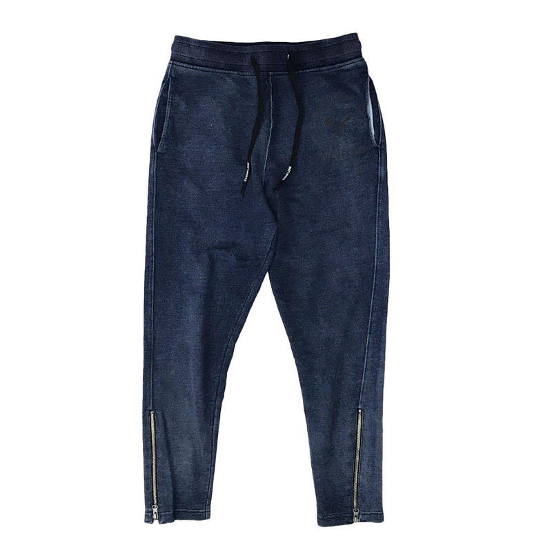 CROSS  LOGO  INDIGO  SWEAT  TROUSER