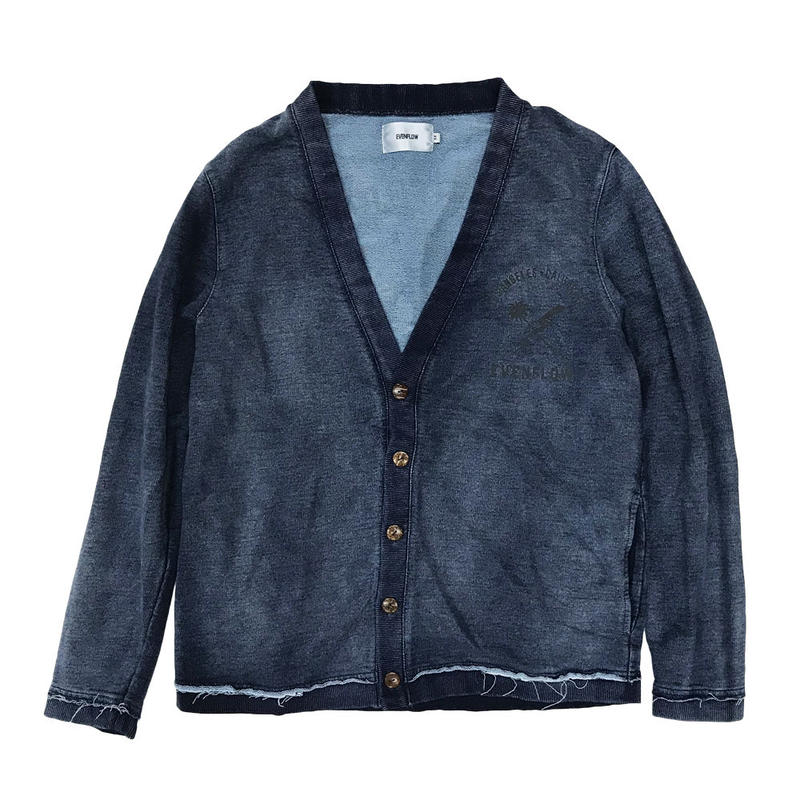 LOGO  INDIGO  SWEAT  C/GN