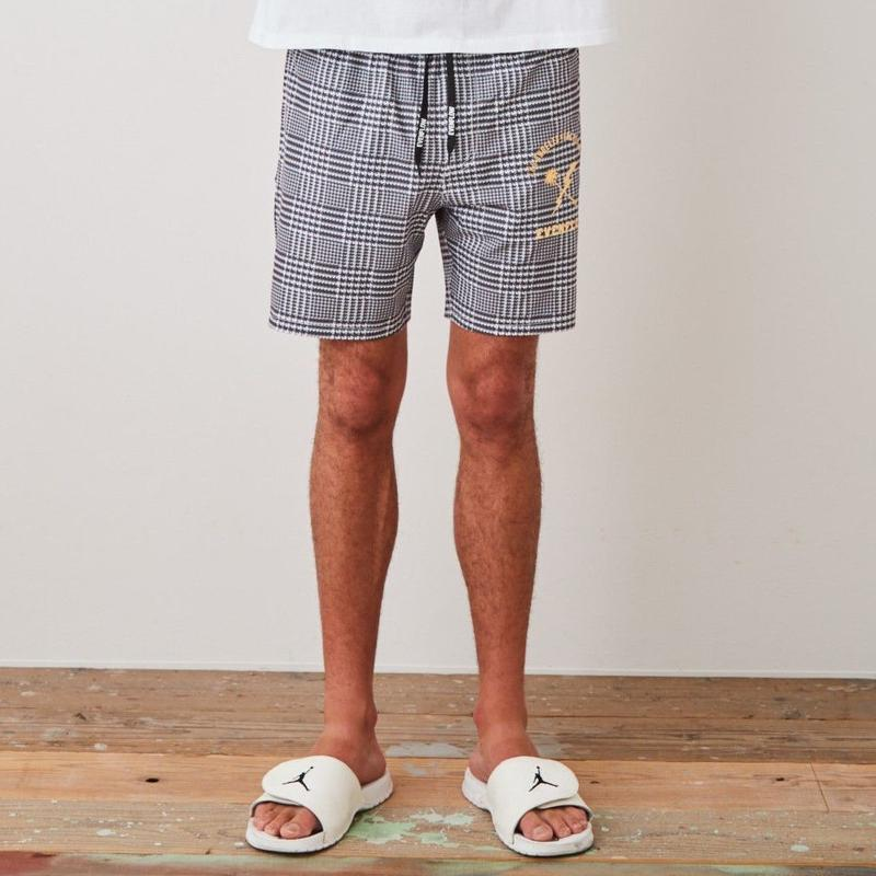 """TABI LABO掲載"" PALM  CHECK  POOLSIDE  SHORTS"