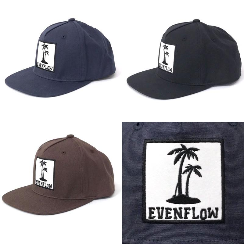TWILL  PALM  LOGO CAP by EVENFLOW