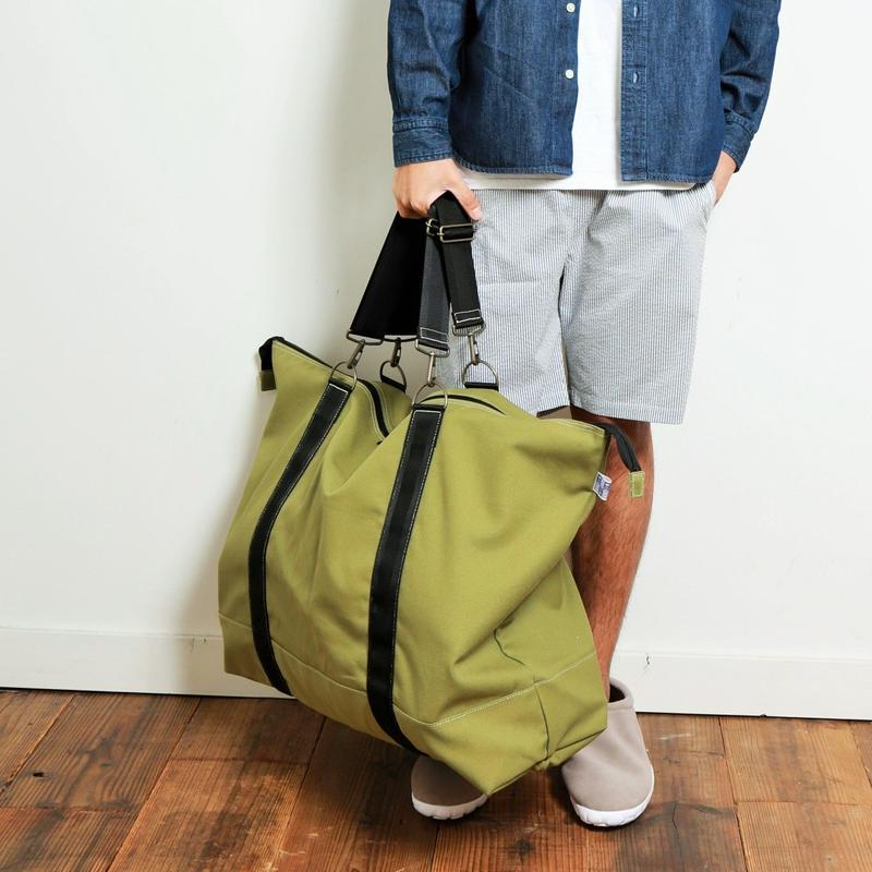 ASSISTANT  BAG  by  EVENFLOW  #M.GREEN